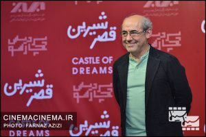 کمال تبریزی در اکران خصوصی فیلم «قصر شیرین»