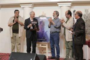 مراسم نکوداشت محمد تهامی نژاد و ابراهیم مختاری