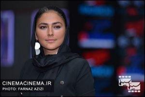 هدی زینالعابدین در اکران خصوصی فیلم سرکوب
