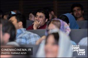کیوان کثیریان در اکران خصوصی فیلم سرکوب