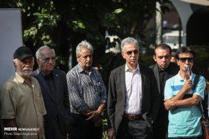 تشییع پیکر زنده یاد داریوش اسدزاده