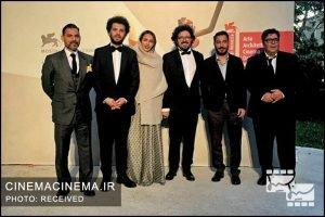 عوامل فیلم متری شیش و نیم در جشنواره ونیز