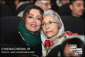 شقایق فراهانی و مادرش