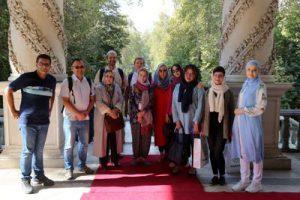بازدید استادان شرقشناس روس از موزه سینما