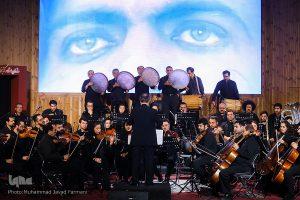 اجرای موسیقی فیلم روز واقعه به رهبری و آهنگسازی مجید انتظامی