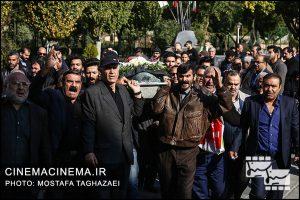 مراسم تشییع مرحوم مجید اوجی