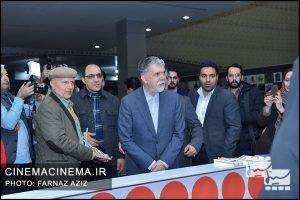 بازدید سیدعباس صالحی، وزیر فرهنگ و ارشاد اسلامی از جشنواره سینما حقیقت