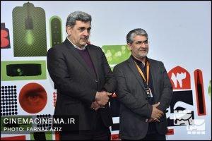 حضور پیروز حناچی، شهردار تهران در جشنواره سینما حقیقت