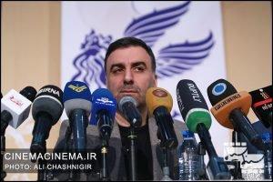 ابراهیم داروغهزاده، دبیر جشنواره