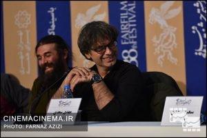 نشست خبری عوامل فیلم تومان در سی و هشتمین جشنواره فیلم فجر