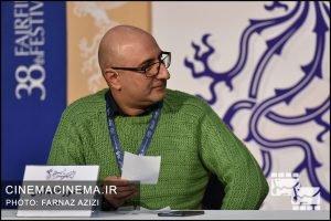 منصور ضابطیان در سی و هشتمین جشنواره فیلم فجر