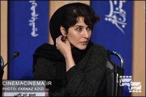 نشست خبری عوامل فیلم «درخت گردو» در سی و هشتمین جشنواره فیلم فجر