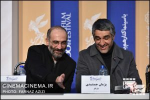 نشست خبری عوامل فیلم «دوزیست» در سی و هشتمین جشنواره فیلم فجر