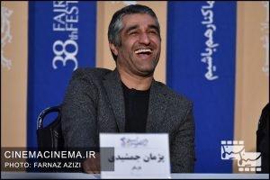 پژمان جمشیدی در نشست خبری فیلم «خوب، بد، جلف»