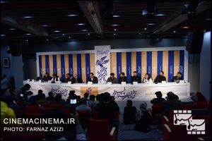 نشست خبری عوامل فیلم «لباس شخصی» در هفتمین روز سی و هشتمین جشنواره فیلم فجر