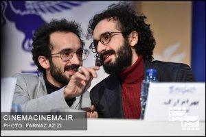 نشست خبری فیلم «پوست» در نهمین روز سی و هشتمین جشنواره فیلم فجر