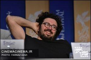 هومن بهمنش در نشست خبری فیلم «خورشید» در دهمین روز سی و هشتمین جشنواره فیلم فجر