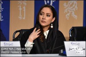 بهاره کیان افشار در نشست خبری فیلم «پسر کشی» در دهمین روز سی و هشتمین جشنواره فیلم فجر