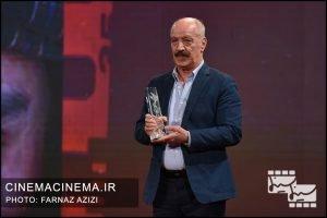 سعید راد در آیین اختتامیه سی و هشتمین جشنواره فیلم فجر