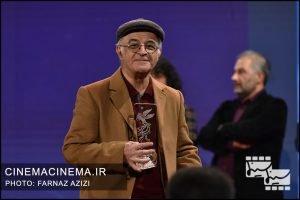 فریدون جیرانی در آیین اختتامیه سی و هشتمین جشنواره فیلم فجر