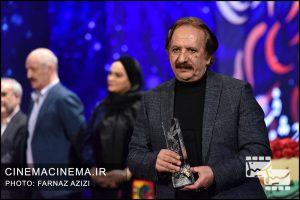مجید مجیدی در آیین اختتامیه سی و هشتمین جشنواره فیلم فجر