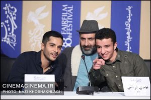 نشست خبری عوامل فیلم «روز صفر» در سی و هشتمین جشنواره فیلم فجر