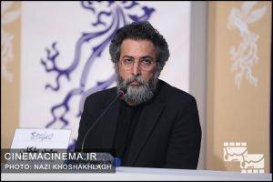سعید ملکان در نشست خبری عوامل فیلم «روز صفر» در سی و هشتمین جشنواره فیلم فجر