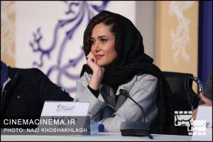 پریناز ایزدیار در نشست خبری فیلم «مغز استخوان»