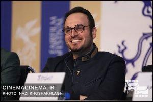 محمدحسین مهدویان در نشست خبری عوامل فیلم «درخت گردو» در سی و هشتمین جشنواره فیلم فجر