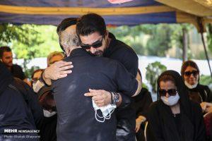 مراسم خاکسپاری سیروس گرجستانی