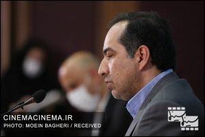 حسین انتظامی، رییس سازمان سینمایی
