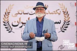 غلامرضا موسوی، تهیه کننده سینما در فرش قرمز آیین تجلیل از افتخارآفرینان سینمای ایران در عرصه بینالملل