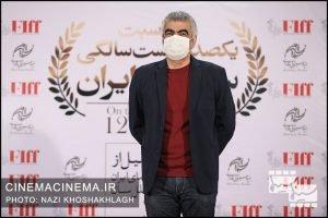 سروش صحت، بازیگر و کارگردان در فرش قرمز آیین تجلیل از افتخارآفرینان سینمای ایران در عرصه بینالملل