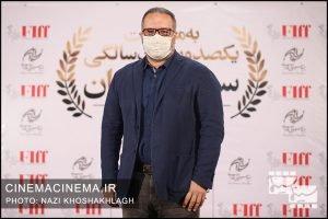 سیدرضا میرکریمی، کارگردان در فرش قرمز آیین تجلیل از افتخارآفرینان سینمای ایران در عرصه بینالملل