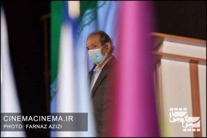 علی نصیریان، بازیگر در آیین تجلیل از افتخارآفرینان سینمای ایران در عرصه بینالملل