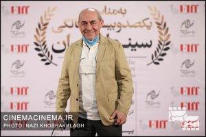 کمال تبریزی، کارگردان در فرش قرمز آیین تجلیل از افتخارآفرینان سینمای ایران در عرصه بینالملل