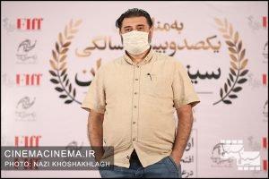 کیوان کثیریان، منتقد سینما در فرش قرمز آیین تجلیل از افتخارآفرینان سینمای ایران در عرصه بینالملل
