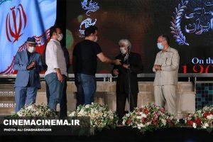 تجلیل از برادران محمودی در آیین تجلیل از افتخارآفرینان سینمای ایران در عرصه بینالملل