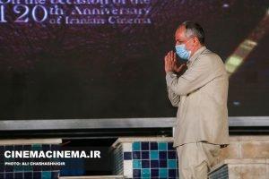 احمد مسجدجامعی، عضو شورای شهر تهران در آیین تجلیل از افتخارآفرینان سینمای ایران در عرصه بینالملل