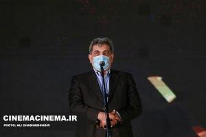 پیروز حناچی، شهردار تهران در آیین تجلیل از افتخارآفرینان سینمای ایران در عرصه بینالملل