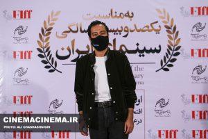 نوید محمدزاده، بازیگر در آیین تجلیل از افتخارآفرینان سینمای ایران در عرصه بینالملل