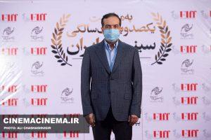حسین انتظامی، معاون سینمایی وزیر ارشاد در آیین تجلیل از افتخارآفرینان سینمای ایران در عرصه بینالملل