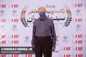محمدعلی نجفی در آیین تجلیل از افتخارآفرینان سینمای ایران در عرصه بینالملل