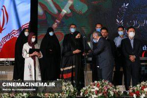 تجلیل از مدافعان سلامت در آیین تجلیل از افتخارآفرینان سینمای ایران در عرصه بینالملل