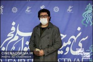 مجید برزگر در فوتوکال فیلم مامان در سی و نهمین جشنواره فیلم فجر