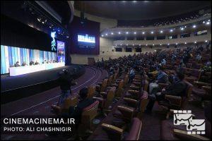 نشست خبری فیلم شیشلیک در سی و نهمین جشنواره فیلم فجر