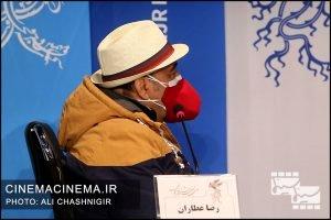 رضا عطاران در نشست خبری فیلم شیشلیک در سی و نهمین جشنواره فیلم فجر