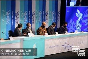 نشست خبری فیلم منصور در سی و نهمین جشنواره فیلم فجر