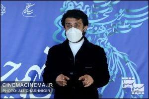 وحید رهبانی در فوتوکال فیلم مصلحت در سی و نهمین جشنواره فیلم فجر