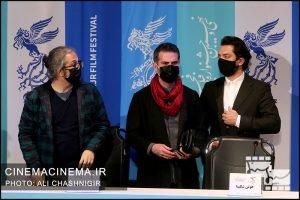 نشست خبری فیلم ابلق در سی و نهمین جشنواره فیلم فجر